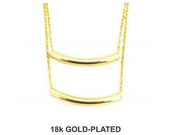 Solares Double Necklace - 18k Gold Plated
