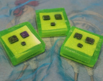 Minecraft Slime Soap
