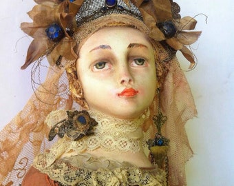 "Doll ""Gold  Century . Hope."""