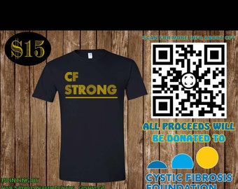 Limited edition Cystic Fibrosis t-shirt
