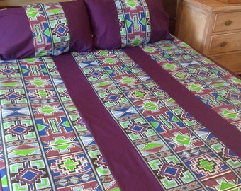 African shwe shwe cotton duvet covers made specially for you