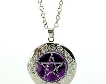 Wiccan locket