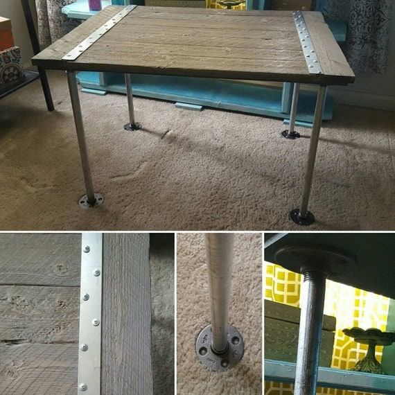 Industrial Handmade Small Coffee Table Side Table Sofa