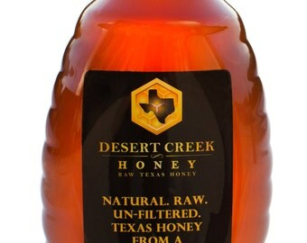2 lbs Raw, Unfiltered, Delicious Natural Texas Honey