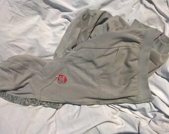 Vintage OG DC Shoes Fur hoodie. Size large.