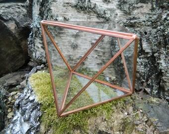 Geometric Terrarium Vessel