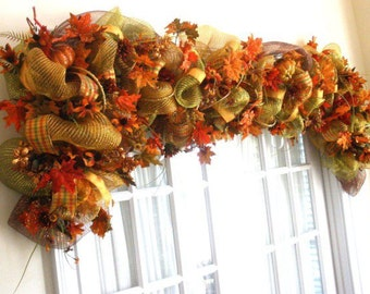 Fall Garland   (8 Feet Long)