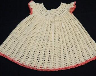 Peaches and Cream Girls Dress