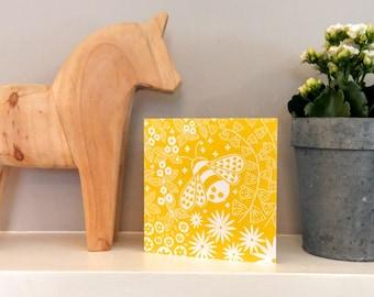 Beatrix Bee, Greetings card