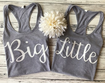 big little sorority shirts, big lil sorority reveal, big little shirts, big little tanks, sorority shirts, sorority tanks, big little gift