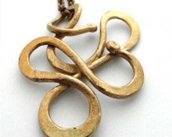 Serpentine Brass Neck Art
