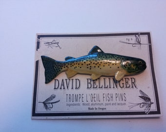 Rainbow Trout Fish Pin 235