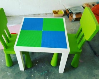Lego/Duplo table and chairs