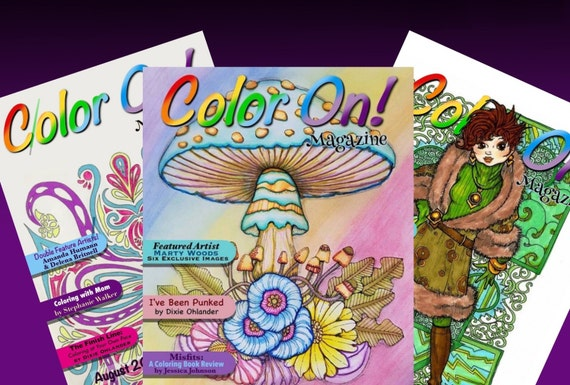 coloring book subscription color on magazine 6 month print subscription