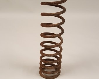 Coil spring Vintage Salvaged decoration diy project