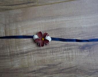 Red,White, and Blue tieback/Headband Option