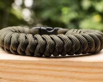 Snake Weave Bracelet, Clip Closure
