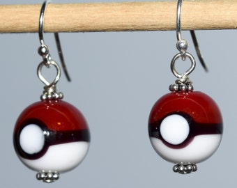 Pokemon Glass Earrings