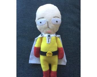 Saitama Felt Plush Doll