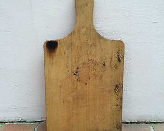 Antique Vintage French Bread Or Chopping Board Wood 21