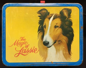 The Magic of Lassie Vintage Lunchbox