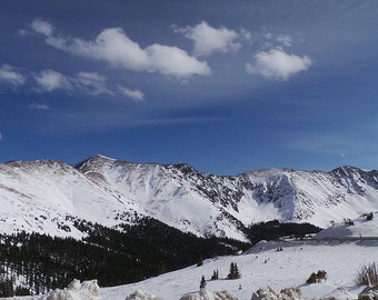 Rocky Mountains - Continental Divide, CO