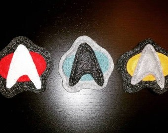 Star Trek Insignia Felt Pin