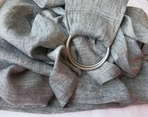 Summer Ring Sling / Pure Linen Baby Ring Sling
