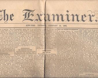 The Examiner Newspaper February 16, 1893