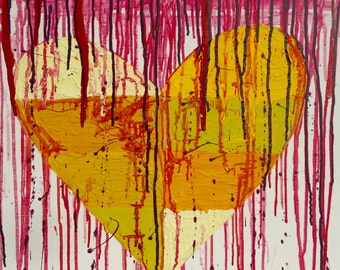 Acrylic abstract art painting, Original painting