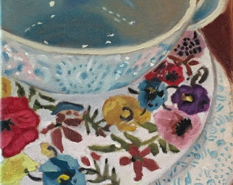 Cup & Saucer Original Art