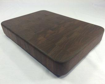 """Small End Grain Cutting Board (Walnut, 12.25"""" x 8.75"""")"""