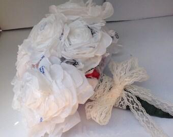 Plastic Bag Floral Arrangements