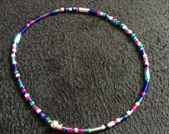 Multicolor Seed Bead Bracelet