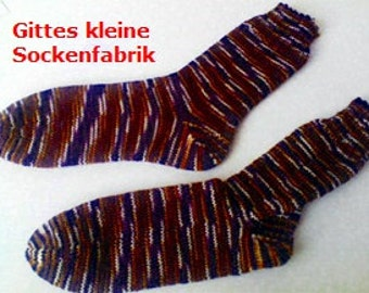 Knitting socks size 42/43