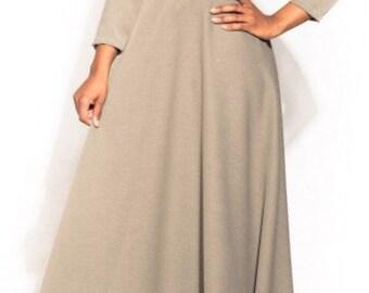 Maxi-Elegant African dress
