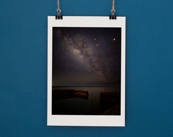 Astrophotography Milky Way Over The Bahamas Print