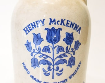 Henry Mckenna Pottery Whiskey Jug (4/5 Quart)