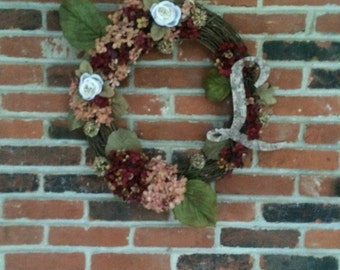 L Fall Wreath