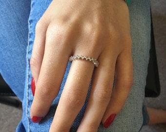 Eternity Band, Eternity Ring, White Gold Eternity, Bands, White Gold Eternity Ring, Diamond Eternity, Diamond Band, Half Eternity Ring