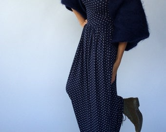 LONG JERSEY DRESS. Made to Order.
