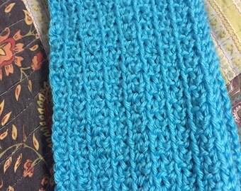 Turquoise Handmade Scarf