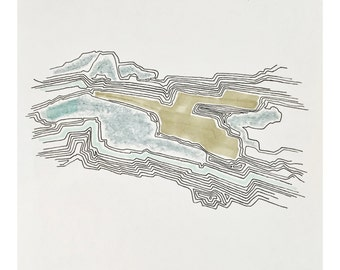 topographic drawing no.1