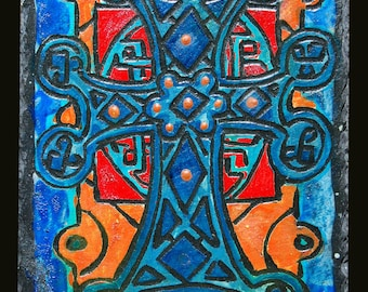 Engraving cross Armenian Elisabeth 3