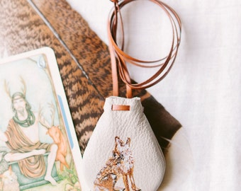 Wolf Totem Talisman Pouch