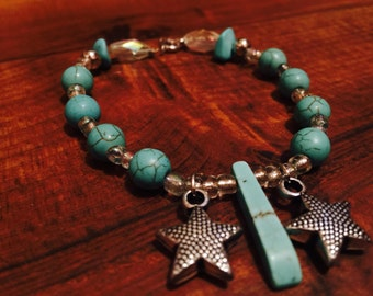 Turquoise with starfish