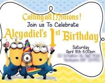 Custom Party Invitations !