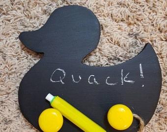 Chalkboard Duck