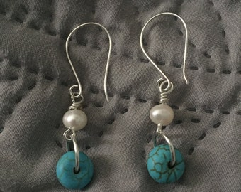 Freshwater Pearl and Turquoise