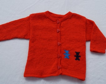 Cardigan, size 92/98, about 2-3 years